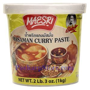 Picture of Maesri Masaman Curry Paste 2.3 Lb