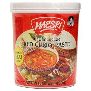 图片 Maesri牌泰式红咖喱酱 400克