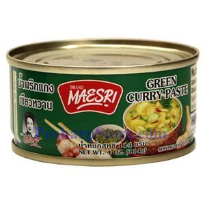 Picture of Maesri Green Curry Paste 4 Oz