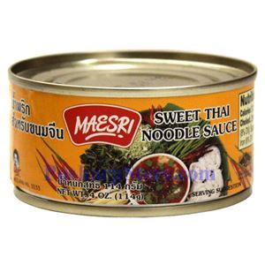 Picture of Maesri Sweet Thai Noodle Sauce 4 Oz