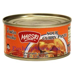 Picture of Maesri Sour Curry Paste 4 Oz