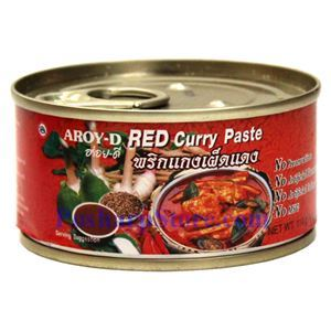 Picture of Aroy-D Red Curry Paste 4 Oz