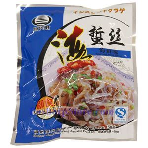 Picture of Hengxingwang Instant Seafood Flavored Jellyfish Shreds 5.2 Oz