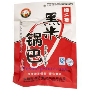 Picture of Shaerge Hot Spicy Black Rice Crackers (Guoba) 3.5 Oz