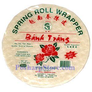 图片 龙牌越南春卷皮22厘米 340克