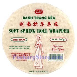 Picture of CAF Soft Spring Roll Wrapper 25CM 12 Oz