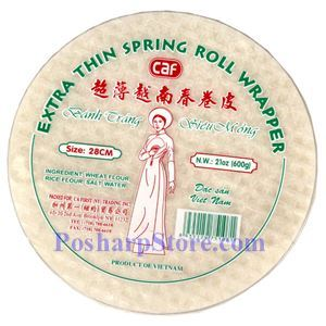 Picture of CAF Extra Thin Spring Roll Wrapper 28CM 21 Oz