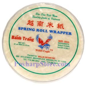 Picture of Willis Eagle Spring Roll Wrapper (Banh Trang) 22CM 2 Lbs