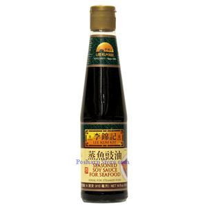 Picture of Lee Kum Kee Seasoned Soy Sauce for Seafood 14 Fl Oz