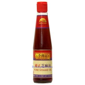 Picture of Lee Kum Kee Pure Sesame Oil 14 Fl Oz