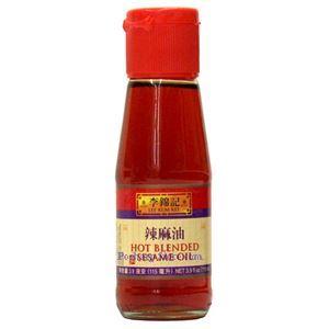Picture of Lee Kum Kee Hot Blended Sesame Oil 4 Fl Oz