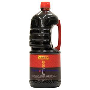 Picture of Lee Kum Kee Mushroom Flavored Dark Soy Sauce 59 Fl Oz