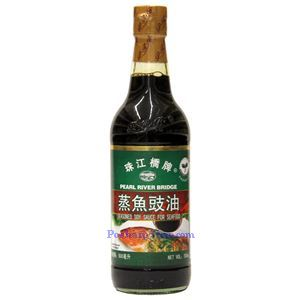 Picture of Pearl River Bridge Seasoned Soy Sauce for Seafood 16.9 Fl Oz