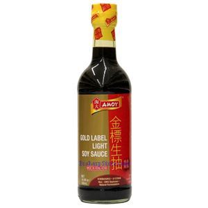 Picture of Amoy Gold Label Light Soy Sauce 15.2 Fl Oz