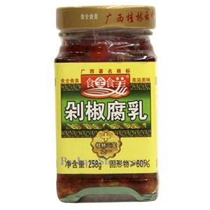 Picture of  Shiquan Shimei Fermented Bean Curd with Chopped Pickle Pepper 7 Oz