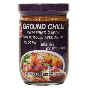Picture of Cock Brand Ground Chili Paste with Fried Garlic 8 Oz