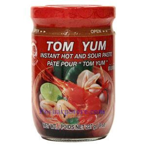 Picture of Cock Brand Instant Hot & Sour Paste ( Tom Yum Paste) 8 Oz