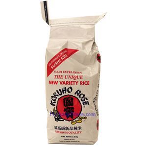 Picture of Kokuho Rose Extra Fancy California Original Sushi Rice  5 Lbs