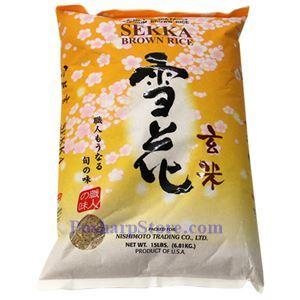 图片 Nishimoto牌雪花糙米 15磅