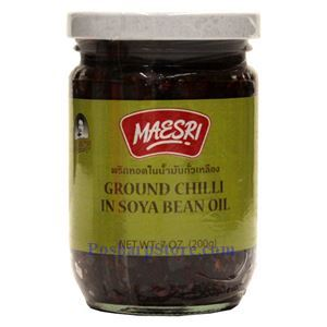 Picture of Maesri Ground Chili in Soya Bean Oil 7 Oz