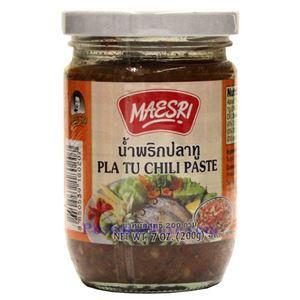 Picture of Maesri Pla Tu Chili Paste 7 Oz