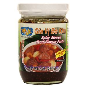 Picture of Double Golden Fish Spicy Stewed Beef Flavor Paste  8 Oz