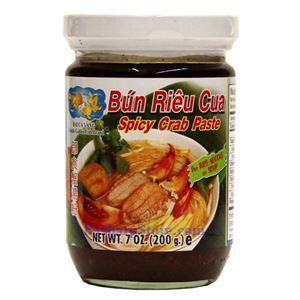 Picture of Double Golden Fish Spicy Crab Sauce (Bun Rieu Cua)  8 Oz