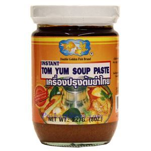 Picture of Double Golden Fish Instant Tom Yum Soup Paste  8 Oz