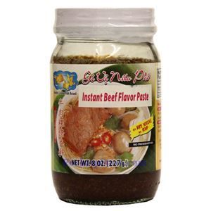 Picture of Double Golden Fish Instant Beef Flavor Paste (Gia Vi Nau Pho) 8 Oz