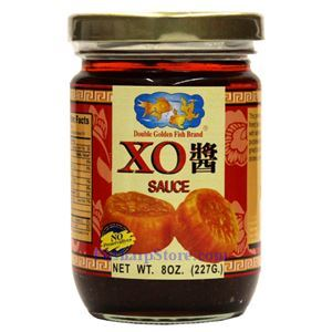 Picture of Double Golden Fish XO Sauce  8 Oz