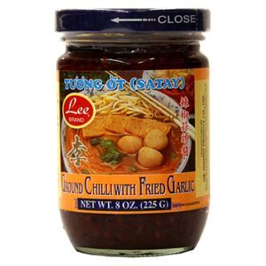 Picture of Lee Brand Ground Chili with Fried Garlic (Tuong Ot ) - Satay 8 Oz