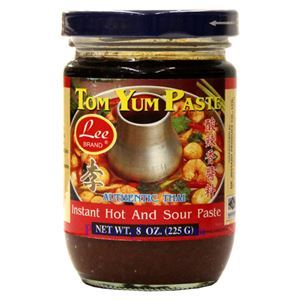 Picture of Lee Brand Tom Yum Paste (Instant Hot & Sour Paste) 8 Oz