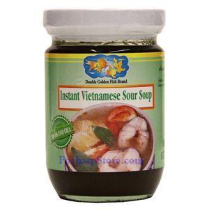 Picture of Double Golden Fish Instant Vietnamese Sour Soup Sauce 8 oz