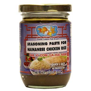 Picture of Double Golden Fish Seasoning Paste for Hainan Chicken Over Rice 8 oz