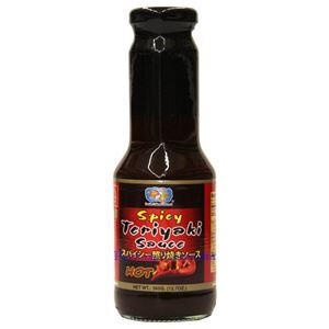 Picture of Double Golden Fish Spicy Teriyaki Sauce 12.7 Oz