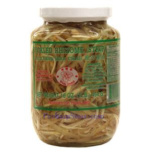 Picture of White Orchid Pickled Rhizome Krachai Strips 1 Lb