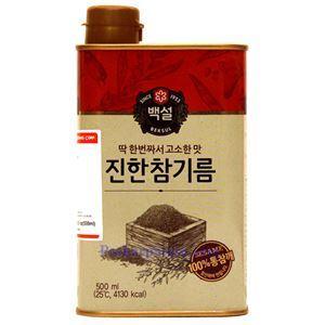Picture of Bexsul Korean 100% Pure Sesame Oil  16.9 Fl Oz