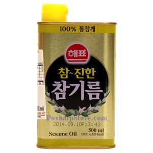 Picture of Haepyo Korean Sesame Oil 16.9 Fl Oz