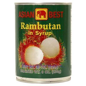 Picture of Asian Best Rambutan in Syrup 20 Oz