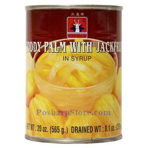 Picture of CTF Brand Toddy Palm with Jackfruit in Syrup 20 Oz