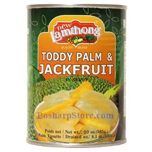 Picture of Lamthong Toddy Palm & Jack Fruit in Syrup 20 Oz