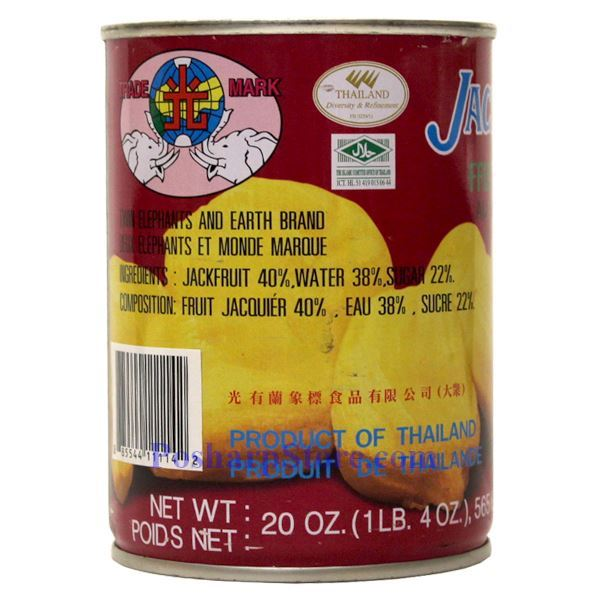 Picture for category Earth Brand Jackfruit Whole in Syrup 20 Oz