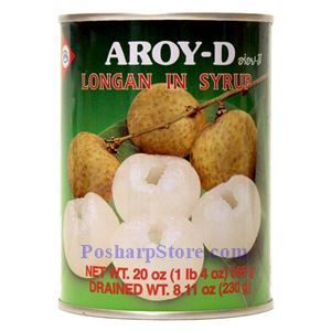 Picture of Aroy-D Longan in Syrup 20 Oz