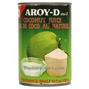 Picture of Aroy-D Coconut Juice 14 Oz