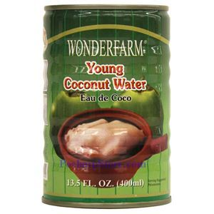 Picture of Wonderfarm Young Coconut Water 14 Oz