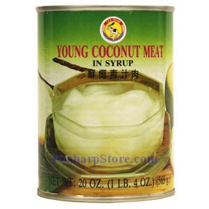 Picture of TAS Brand Young Coconut Meat in Syrup 20 Oz