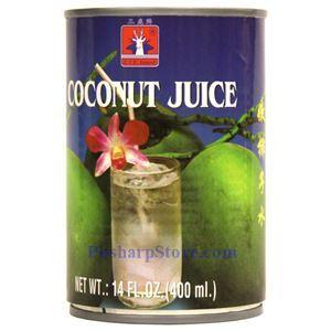 图片 三鹿牌泰国嫩椰子水 400克