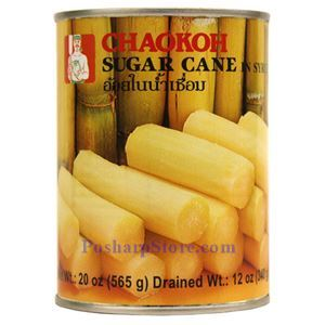 Picture of Chaokoh Sugar Cane Chunk in Syrup 20 Oz