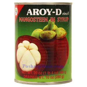Picture of Aroy-D Mangosteen in Syrup 20 Oz