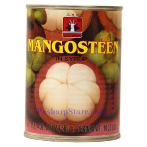 Picture of CTF Brand Mangosteen in Syrup 20 Oz